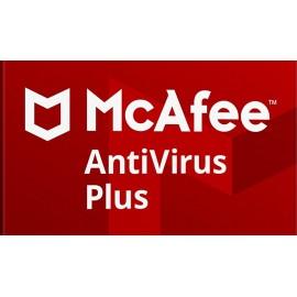MCAFEE AntiVirus Plus 2018/2017, 1U/1Y, EU, Licence Key ESD, κάρτα ξυστό