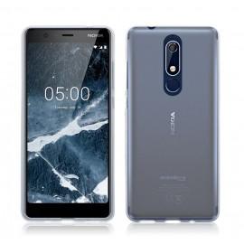 POWERTECH Θήκη Ultra Slim MOB-1043 για Nokia 5.1, διάφανη
