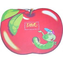 HARD PVC mouse Pad σε σχήμα μήλου με έντομο 230 x 180 x 3mm