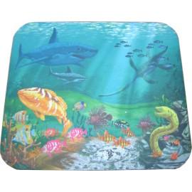 Mouse Pad βυθός θάλασσας με ψάρια, 230 x 180 x 3mm
