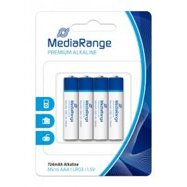 MEDIARANGE Premium Αλκαλικές μπαταρίες AAA LR03, 4τμχ
