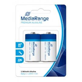 MEDIARANGE Premium αλκαλική μπαταρία C LR14 Baby 1.5V, 2τμχ
