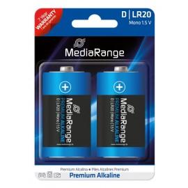 MediaRange Premium αλκαλική μπαταρία D Mono   LR20 1.5V Pack 2 μ.