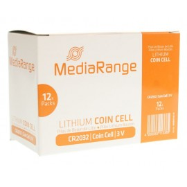 MediaRange Μπαταρία Λιθίου 3v, CR2032, 4 τεμ.