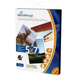 MEDIARANGE 130x180mm PP CARD, GLOSSY, 220g, 50τμχ