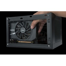 MSI VGA Radeon RX 550 Aero ITX, 2GB GDDR5, DirectX 12, 128bit, OC