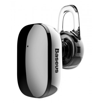BASEUS bluetooth earphone Encok Mini A02, NGA02-0A, black mirror