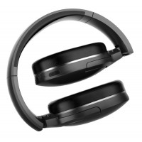 BASEUS bluetooth headphones ENCOK D02, wireless & wired, μαύρο