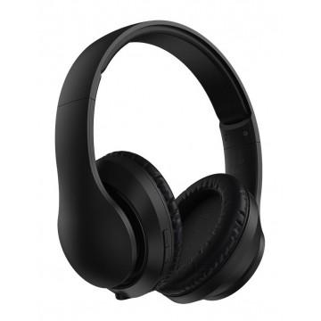 BASEUS bluetooth headphones ENCOK D07, wireless & wired, μαύρο