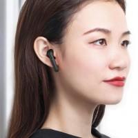 BASEUS earphones ENCOK W09, true wireless, με θήκη φόρτισης, μαύρα