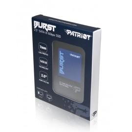 """PATRIOT SSD BURST, 240GB, 2.5"""" SATA III, 555-500MB/s, 7mm"""