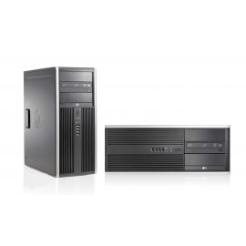 HP SQR PC 8000 Elite CMT, E8400, 4GB, 160GB HDD, DVD, Βαμμένο