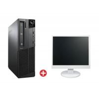 "LENOVO PC M91p SFF PC-543-SQR με used Οθόνη LCD 22"""