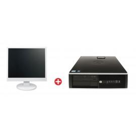 "HP PC Elite 8100 SFF PC-544-SQR με used Οθόνη LCD 22"""