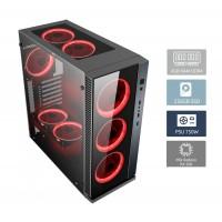 POWERTECH PC PC2-1500X, Ryzen 5 1500X, DDR4 4GB, 256GB SSD, VGA RX 560