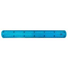 MP εύκαμπτος χάρακας PL003, 30cm, μπλε