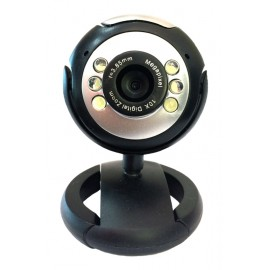 POWERTECH Web Camera 1.3MP, Plug & Play, Black