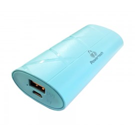 POWERTECH Power Bank Pocket 3000mAh, USB, Micro Input, Blue