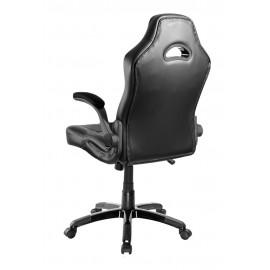 POWERTECH Καρέκλα γραφείου PT-720, ρυθμιζόμενη, με υποβραχιόνια, μαύρη