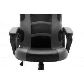 POWERTECH Καρέκλα γραφείου PT-721, ρυθμιζόμενη, με υποβραχιόνια, μαύρη