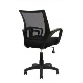 POWERTECH Καρέκλα γραφείου PT-726, ρυθμιζόμενη, με υποβραχιόνια, μαύρη