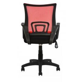 POWERTECH Καρέκλα γραφείου PT-728, ρυθμιζόμενη, με υποβραχιόνια, κόκκινη