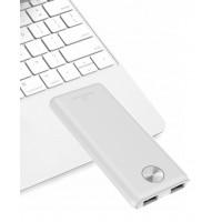 POWERTECH Power Bank PT-803 5000mAh, 2x USB Output, 2.1A, λευκό