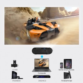 POWERTECH LED βιντεοπροβολέας PT-962, Wi-Fi Airplay, 1080p, HDMI, μαύρος