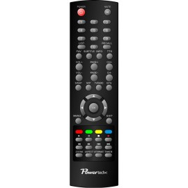 POWERTECH χειριστήριο συμβατό με δέκτη PT-MPEG4-HD2  κόκκινη συσκευασία