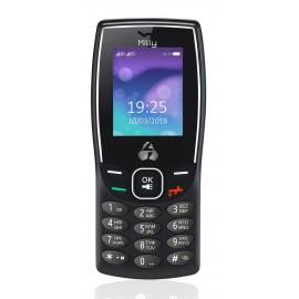 POWERTECH Κινητό Τηλέφωνο Milly PTM-09, Dual Sim, με φακό, μαύρο
