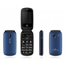 POWERTECH Κινητό Τηλέφωνο Sentry IV PTM-17, SOS Call, με φακό, μπλε