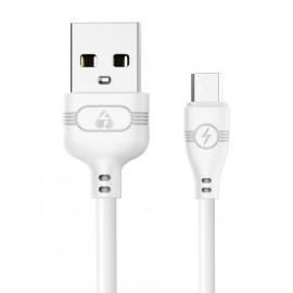 POWERTECH Καλώδιο USB σε Micro USB eco PTR-0055 copper, 1m , μαύρο