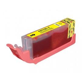 Συμβατό Inkjet για CANON, 571 XL, 12.2ml, Yellow