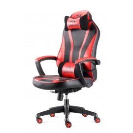 REDRAGON Gaming Καρέκλα C101 Metis, Εργονομική, μαύρη-κόκκινη