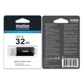 IMATION USB Flash Drive OD16 RT02160032, 32GB, USB 2.0, μαύρο