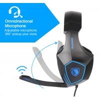 SADES gaming headset SA-819, 3.5mm, 50mm, μαύρο