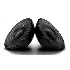 POWERTECH MP3 Player με Philips φορητό παθητικό ηχείο SBP1120, μαύρο