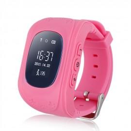GPS Παιδικό ρολόι χειρός GW300, SOS-Βηματομετρητής, ροζ