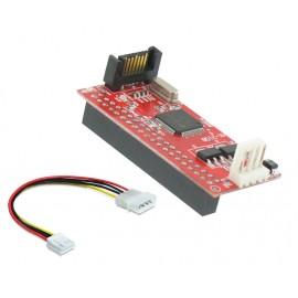 POWERTECH Κάρτα Επέκτασης SATA σε IDE SLOT-008, Chipset JMB20330