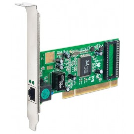 POWERTECH Κάρτα Επέκτασης PCI to LAN 10/100/1000, Chipset RTL8169SC