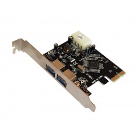 POWERTECH Κάρτα Επέκτασης PCI-e to USB 3.0, 2 ports, Chipset VL805