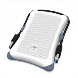 SILICON POWER εξωτερικός HDD 2TB Armor A30, USB 3.1, λευκός