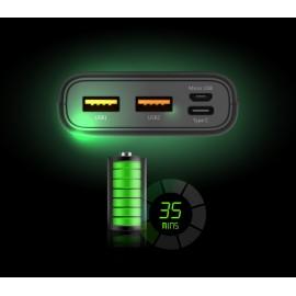 SILICON POWER Power Bank C10QC 10000mAh, 3x output, QC3.0, PD 18W, λευκό
