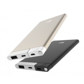 SILICON POWER Power Bank S55 5000mAh, USB, Micro/Lightning Input, Gold