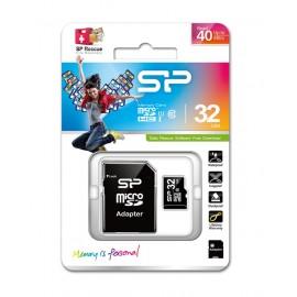 SILICON POWER Κάρτα Μνήμης MicroSD 32GB, Class 10