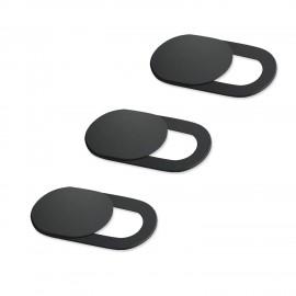 Κάλυμμα κάμερας SPPIP-001, universal, 3τμχ, μαύρο
