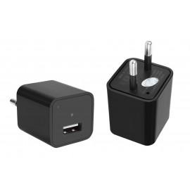 Φορτιστής Κινητού με κρυφή κάμερα Full HD, USB