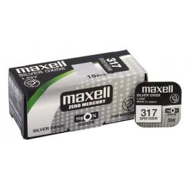 MAXELL Μπαταρία λιθίου για ρολόγια SR516SW, 1.55V, No317, 10τμχ