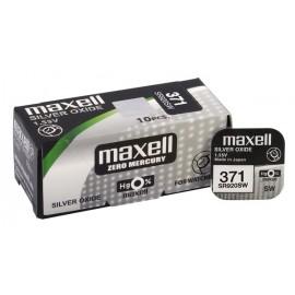 MAXELL Μπαταρία λιθίου για ρολόγια SR920SW, 1.55V, No371, 10τμχ