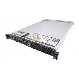 DELL Server PowerEdge R620, 2x E5-2620, 8GB, DVD, 2x750W, 4x SFF, REF SQ